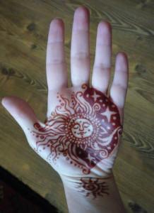 henna slnko mesiac 3
