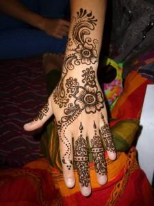 čerstvá henna