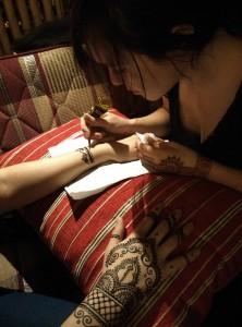 malovanie hennou