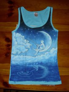 maľba na tričko
