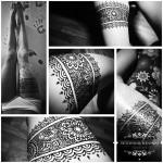 henna hena noha podvazok