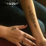 henna ruky geometricka hena
