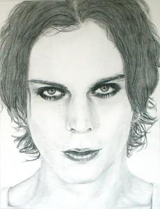 portrét -ceruzka